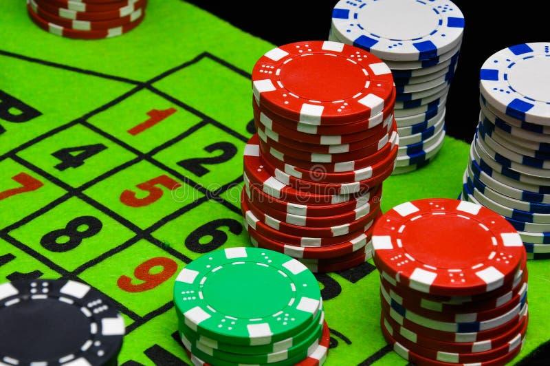 Kasyno, ruleta, uprawia hazard gry obraz royalty free