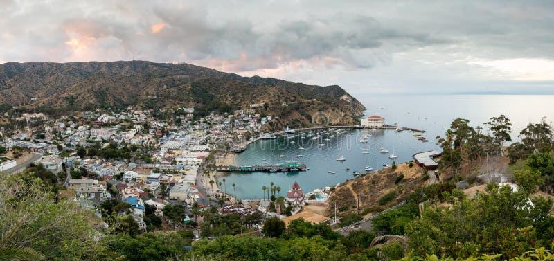 Kasyno w Avalon na Catalina wyspie obrazy stock