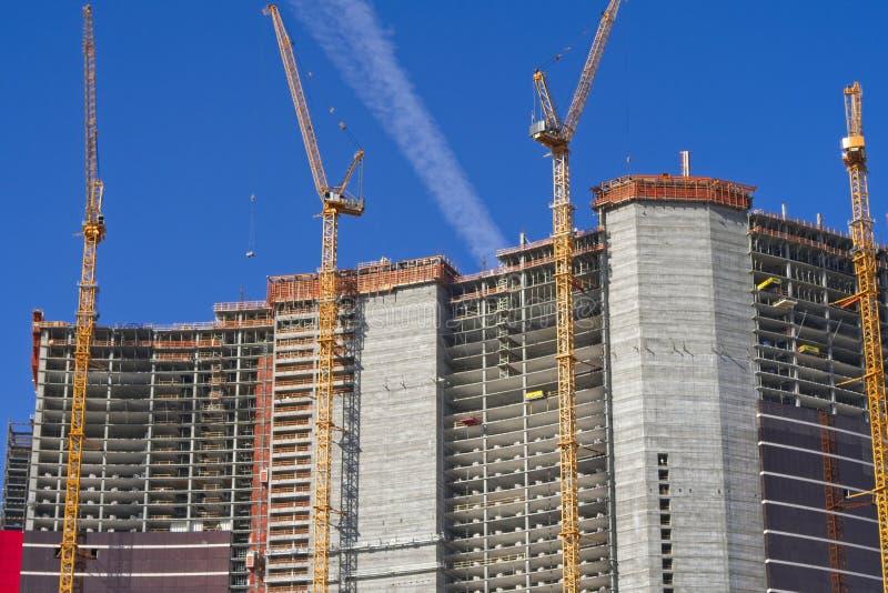 Kasynowa budowa w Las Vegas zdjęcia stock