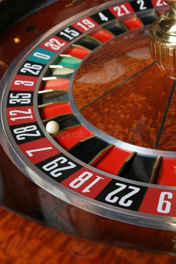 kasynowa ruletka zdjęcia stock