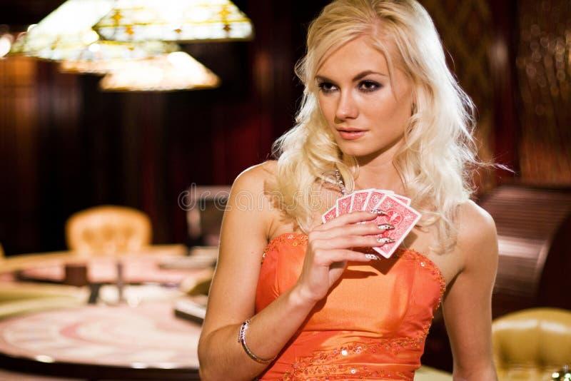 kasynowe kobiety zdjęcie royalty free