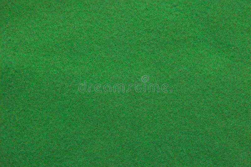 Kasynowy zielonego stołu tło zdjęcia royalty free