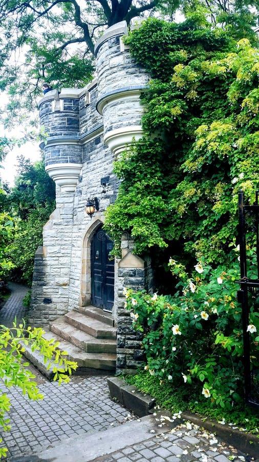 Kasztelów ogródy fotografia stock