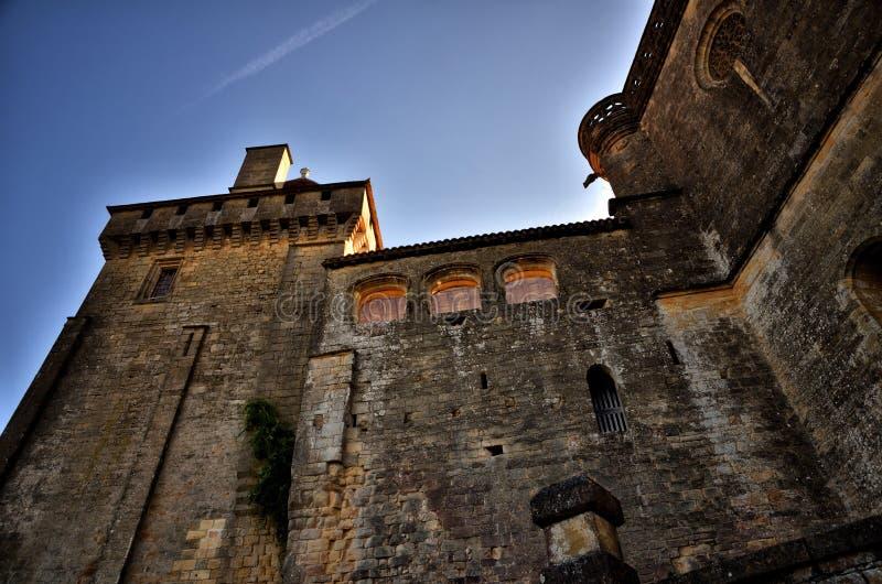 Kasztel Biron, Dordogne, Francja zdjęcie stock