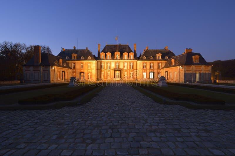 Kasztel Breteuil na przedmieściach Paryż zdjęcie royalty free