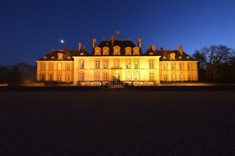 Kasztel Breteuil na przedmieściach Paryż obraz royalty free