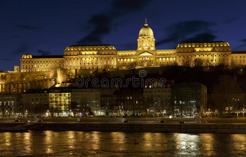 Kasztel Buda w Węgry obrazy royalty free