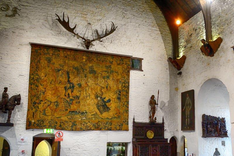 Kasztel, Bunratty, Irlandia obraz stock