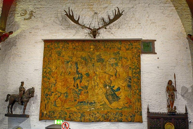 Kasztel, Bunratty, Irlandia obraz royalty free