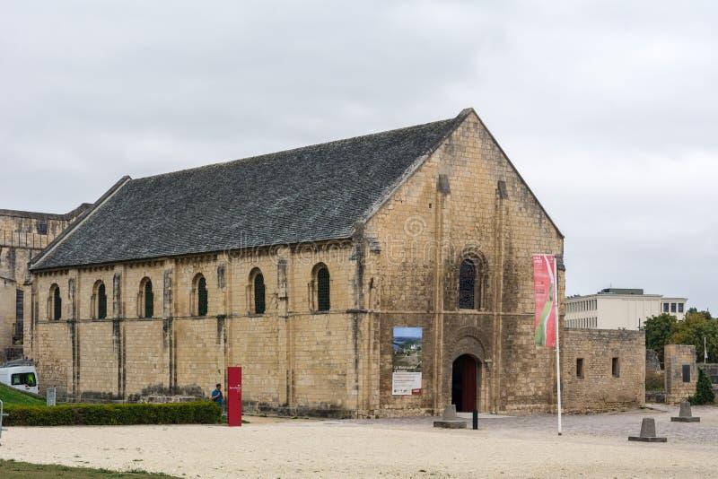 Kasztel Caen, Francja obraz stock