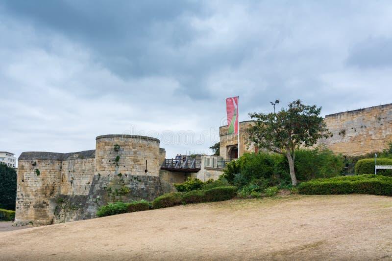 Kasztel Caen, Francja zdjęcie royalty free
