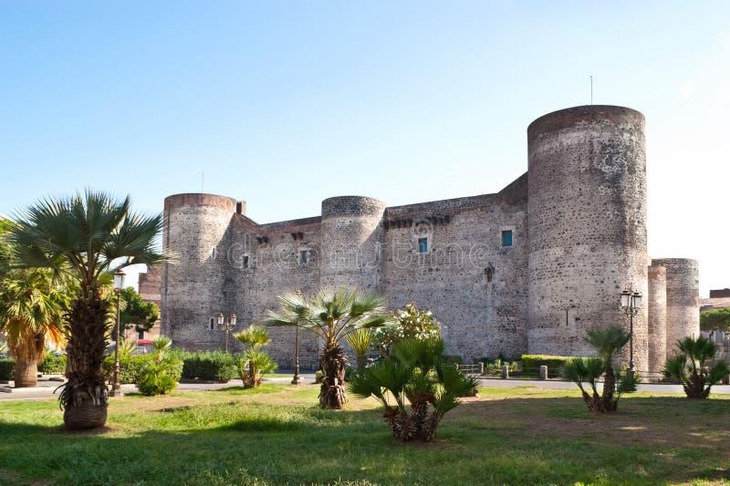 Kasztel Catania obraz stock