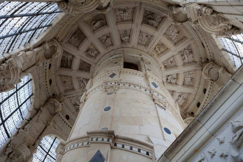 Kasztel Chambord obrazy royalty free