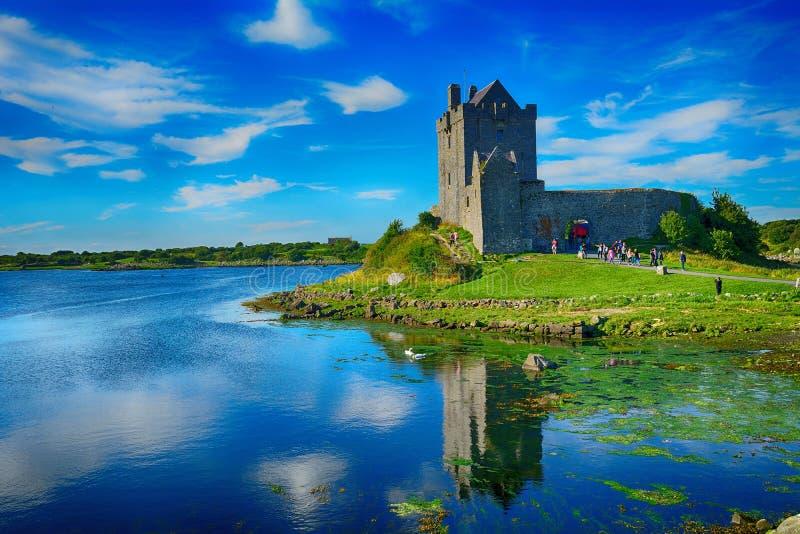 Kasztel, Dunguaire, Irlandia zdjęcia royalty free