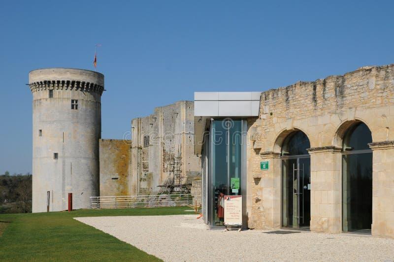 Kasztel Falaise w Normandie obrazy royalty free