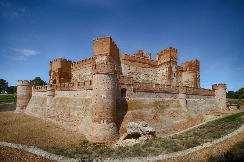 Kasztel los angeles Mota jako miejsce kulturalny interes i krajowy zabytek ostatnio obrazy royalty free