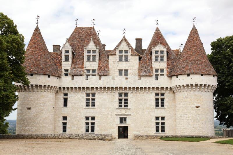Kasztel Monbazillac w Dordogne obraz stock