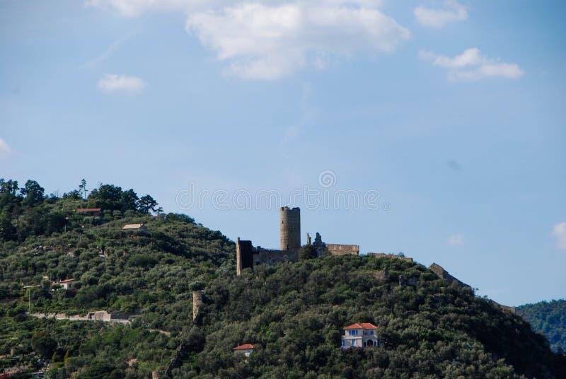 Kasztel Monte Ursino fotografia royalty free