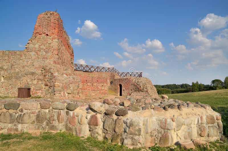 Kasztel ruiny, Wenecja, Polska fotografia stock