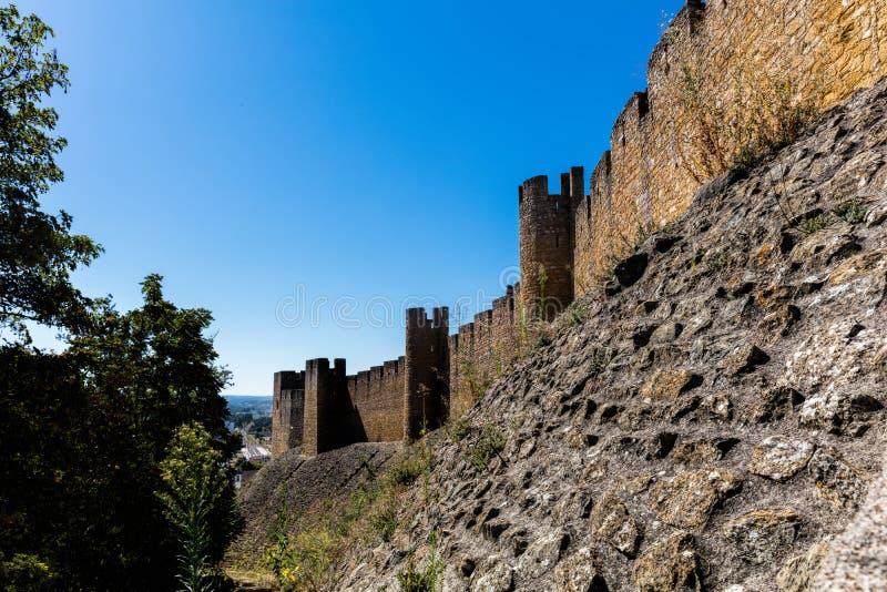 Download Kasztel Rycerza Templariusz W Tomar, Portugalia Obraz Stock - Obraz złożonej z kamień, średniowieczny: 106919415