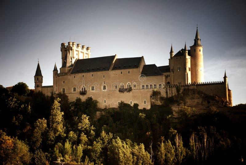 Kasztel Segovia, Hiszpania fotografia stock