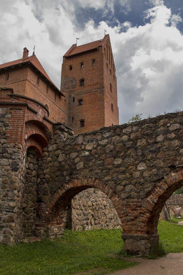 Kasztel Trakai Lithuania zdjęcia royalty free