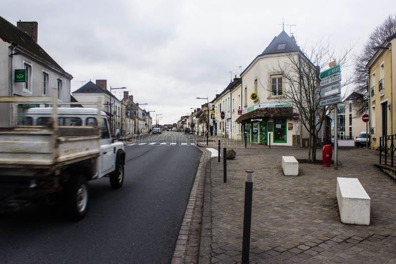 Kasztel w Bouloire zdjęcia stock