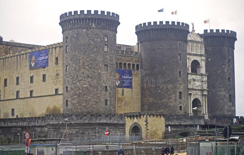 Kasztel w Naples, Włochy obrazy royalty free