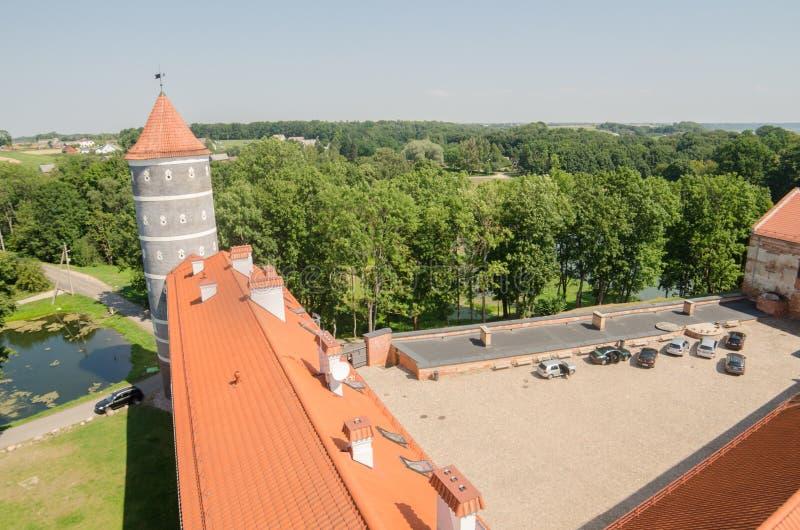 Kasztel w Panemune, Lithuania zdjęcie royalty free