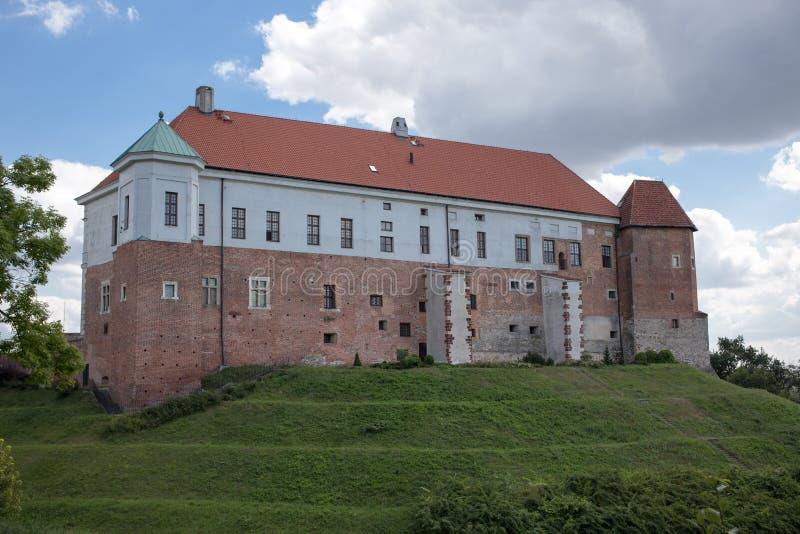 Kasztel w Sandomierz. obrazy royalty free