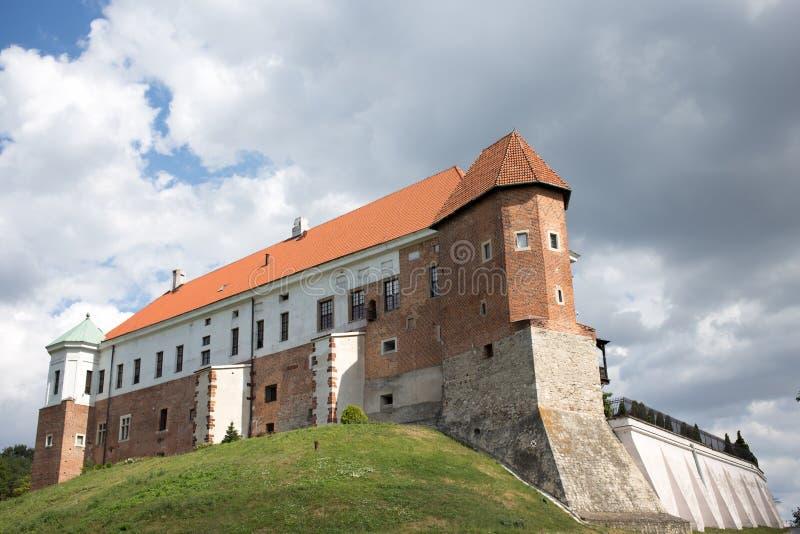 Kasztel w Sandomierz. fotografia stock