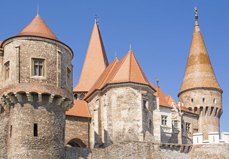 Kasztel w Transylvania, Rumunia zdjęcia royalty free