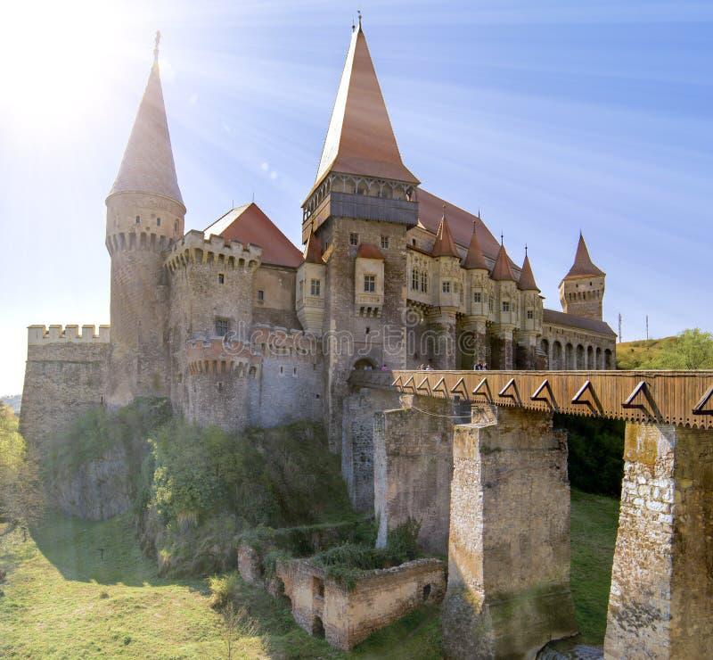 Kasztel w Transylvania, Rumunia zdjęcie stock
