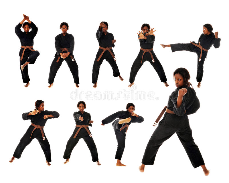 kat karate. fotografia royalty free