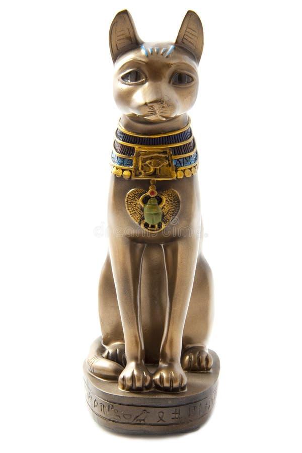 Kat van Egypte stock afbeelding