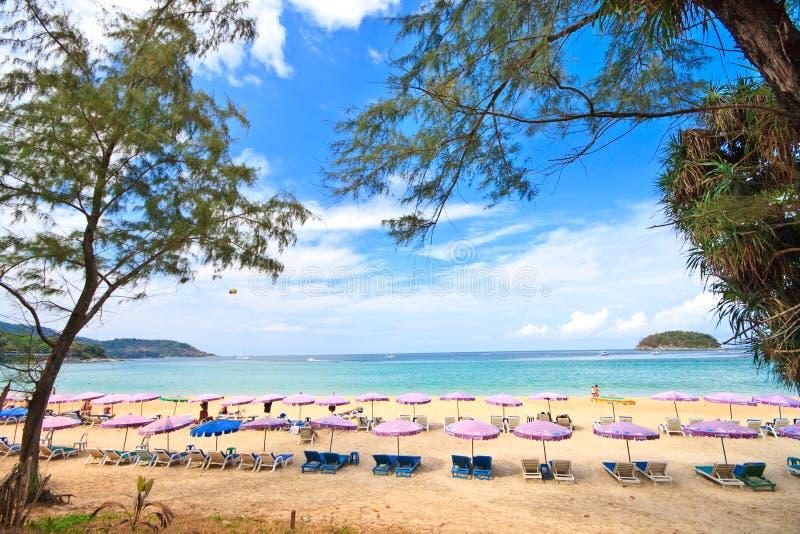 Kata Strand, Phuket lizenzfreies stockfoto