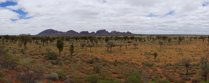 Kata Tjuta (l'Olgas), Australie photos stock