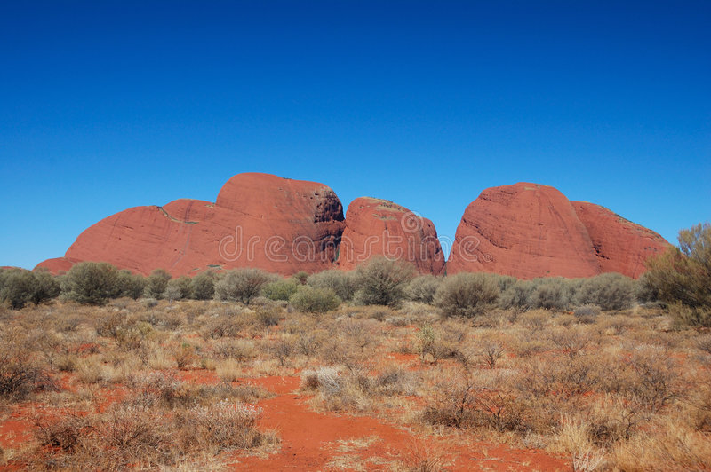 Download Kata Tjuta, the olgas editorial stock photo. Image of desert - 5679733