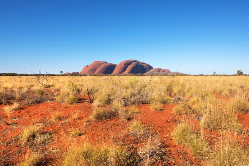 Kata Tjuta the Olgas, Northern Territory, Australia royalty free stock photo