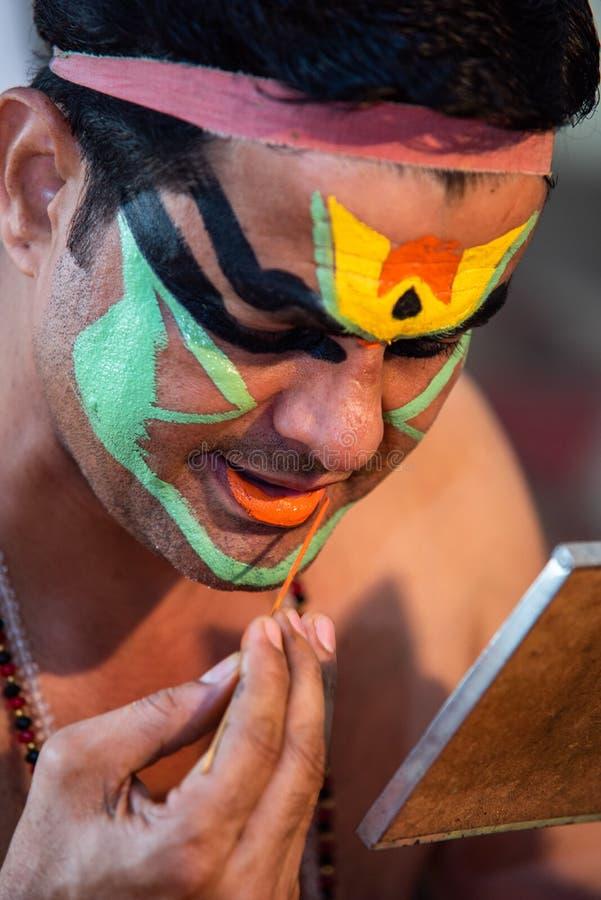 Katakali составляет подготовку стоковые изображения