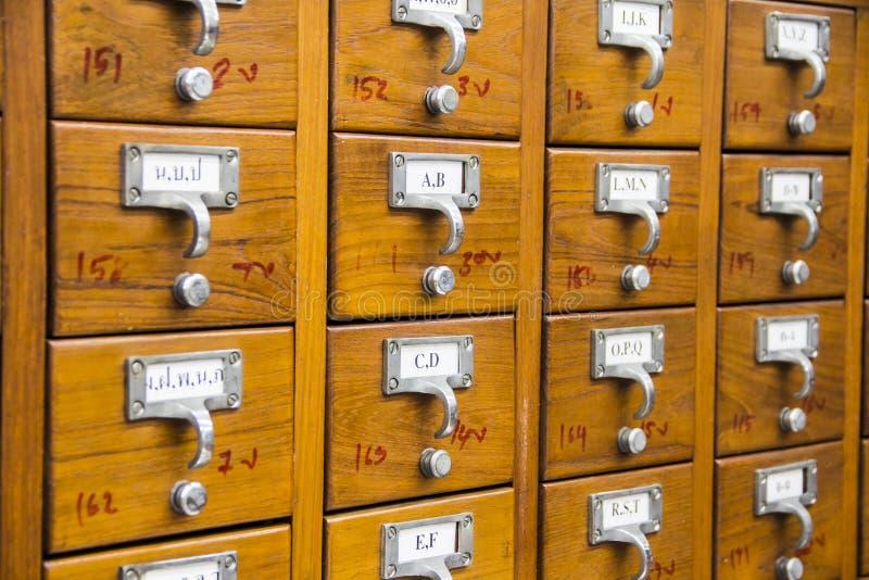 Katalog karta obrazy stock