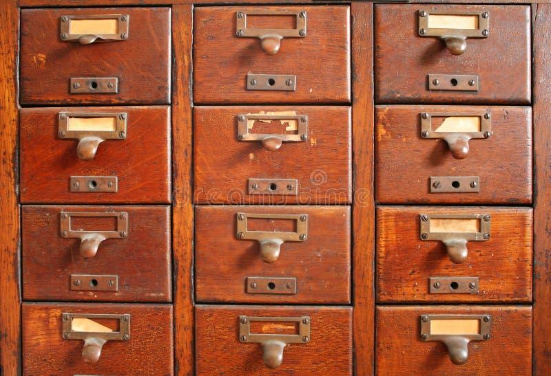 katalog karty, stary obraz royalty free