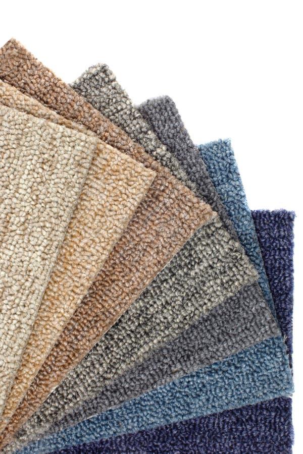 Katalog kolorowi dywany zdjęcia royalty free