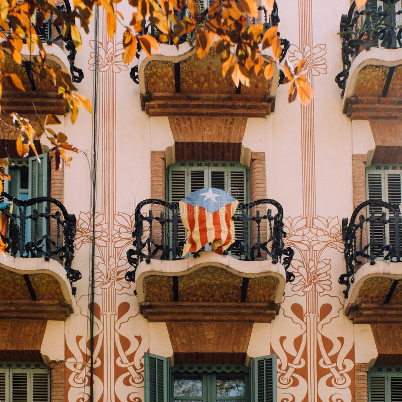 katalonien lizenzfreies stockbild