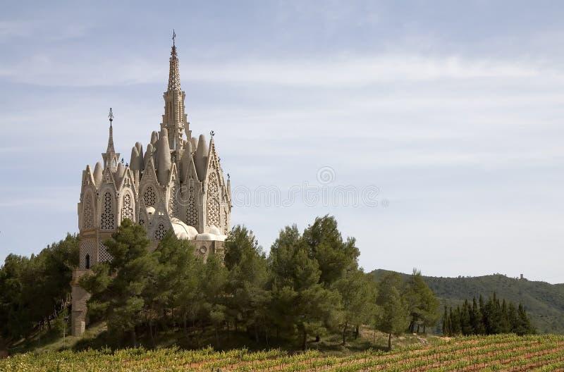 katalonii Montferri Hiszpanii obraz stock
