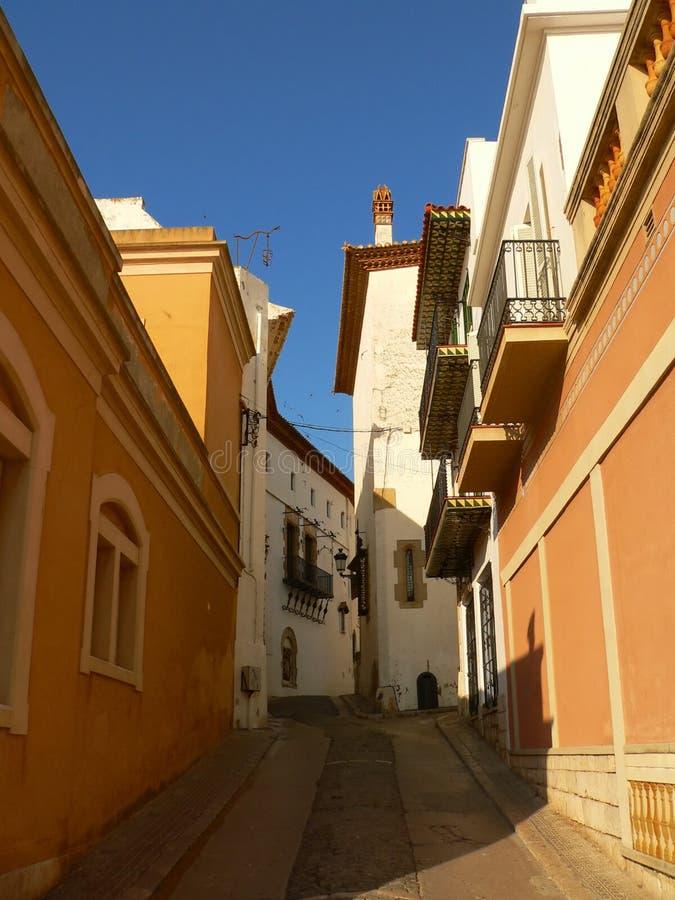 katalonii sitges Hiszpanii obrazy royalty free