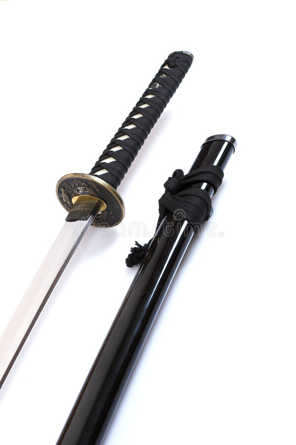 Katana - Samurai sword (1) stock photography