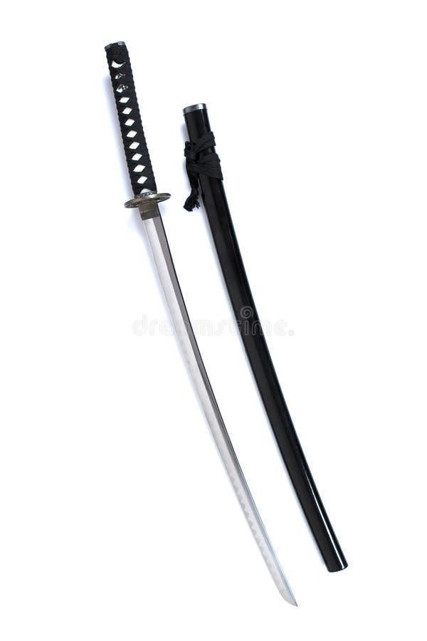 Katana - Samurai sword (5) stock photography