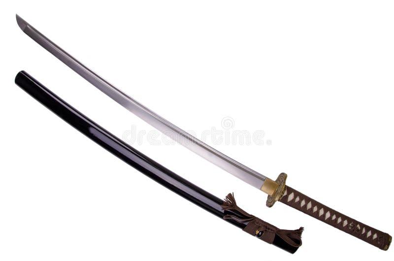 Katana svärd arkivbild