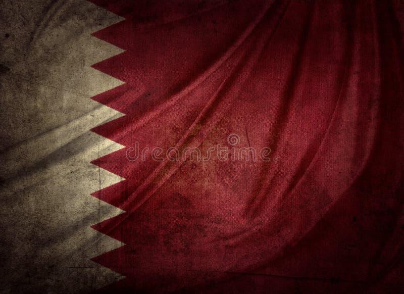 Katar-Flagge stockfotografie